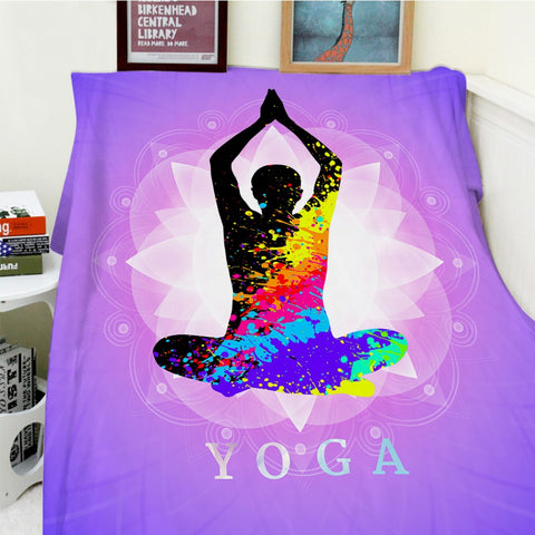 Blankets Yoga Meditation Warm Throw (FS)