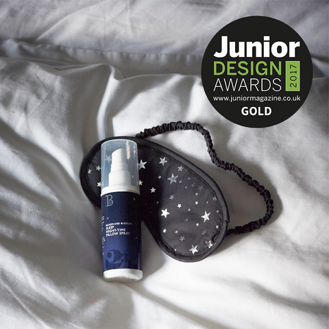 Gold Award Winner Junior Design Awards Bloom and Blossom Best Pampering Beauty Range for Parents