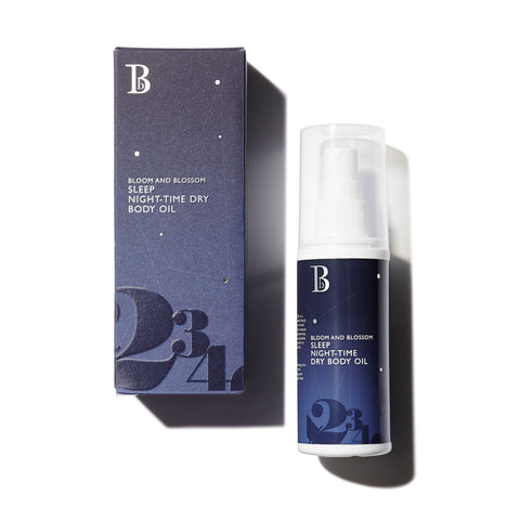 NEW Sleep Night-Time Dry Body Oil