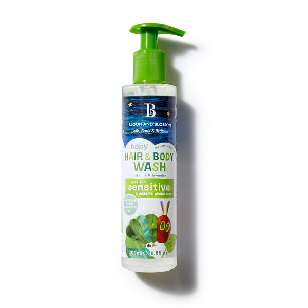 Bloom and Blossom Baby Hair & Body Wash - The Very Hungry Caterpillar Collection