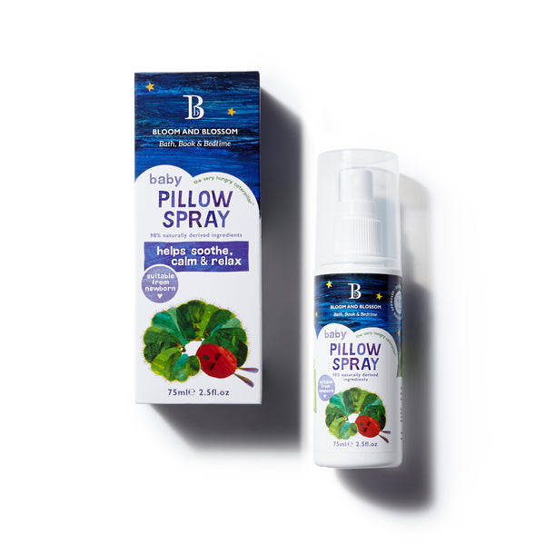 Bloom and Blossom Baby Pillow Spray - The Very Hungry Caterpillar Collection