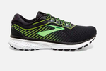 Brooks Ghost 12 Ebony/Grey Mens