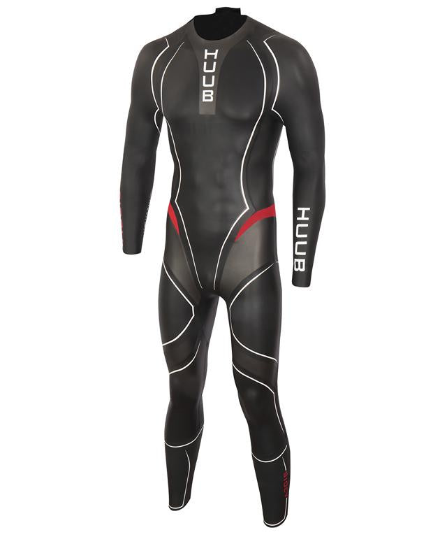 HUUB Aegis III 3:5 Full Suit Black/Red