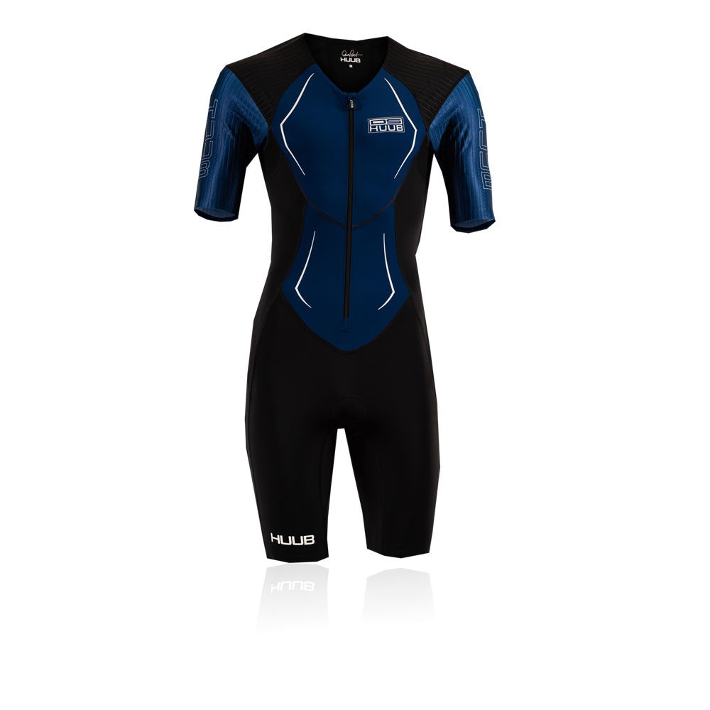 HUUB DS Long Course Tri Suit Black/Navy
