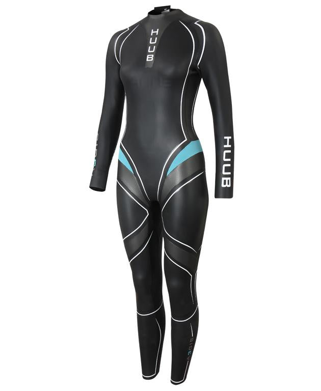 HUUB Aegis III 3:3 Full Suit Black/Blue Women's