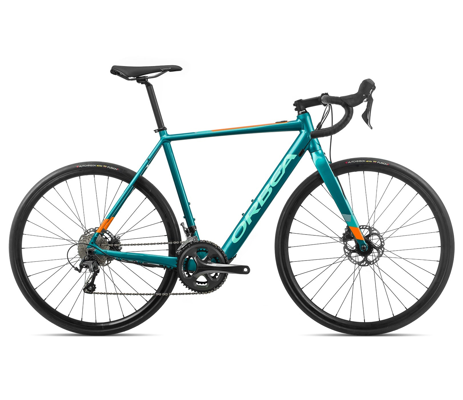 Orbea Gain D40 2020 turquoise/orange