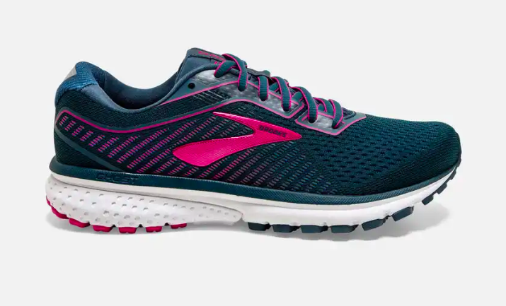 Brooks Ghost 12 ladies Blue/beetroot