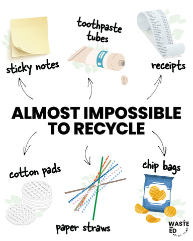 things that are impossible to recycle