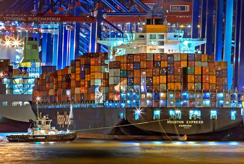 large shipping vessel