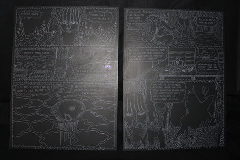 Crystal Bone Drive double page 16-17