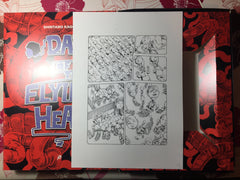 Day of the Flying Head series limited edition BOX + original artwork (last copies #7)