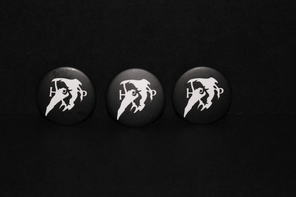 Hollow Press logo PIN, OPAQUE (x3)