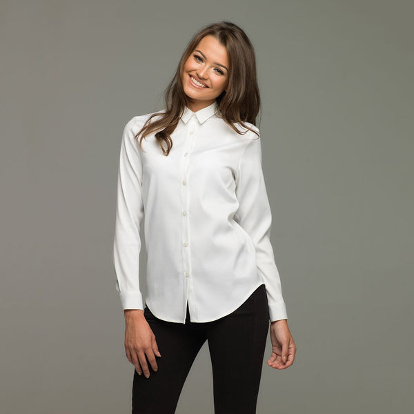 PLAIN JANE WHITE SHIRT - CT009