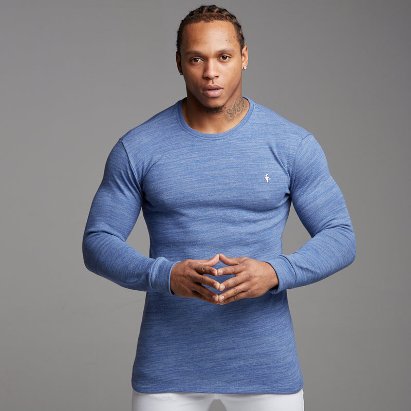 Father Sons Classic Blue Super Slim Jumper - FSH222