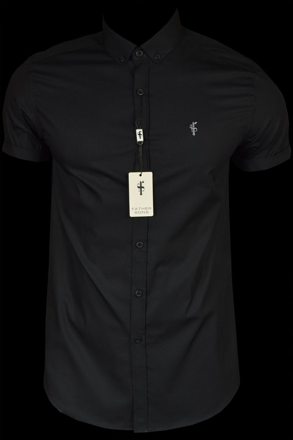 Father Sons Classic Black & Grey Short Sleeve - FS085