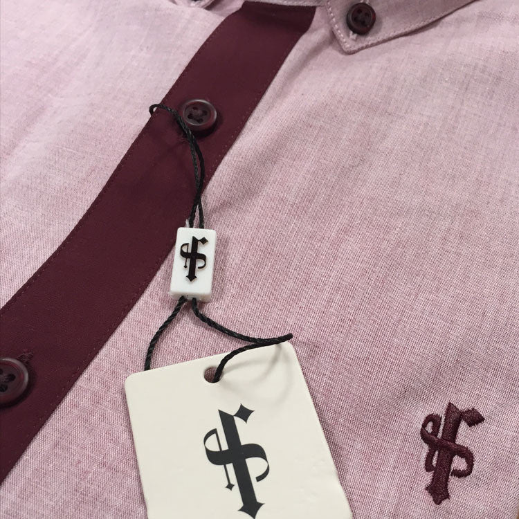 Father Sons Melange & Burgundy Contrast - Released 21.08.15                FS0105