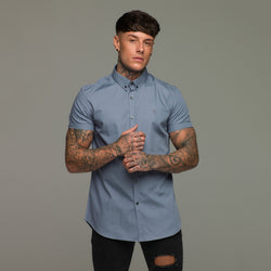 Father Sons Slate Grey Short Sleeve - FS216