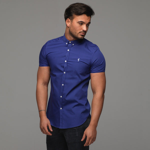 Father Sons Classic Indigo Blue Short Sleeve - FS241(PRE ORDER - 25TH JANUARY)