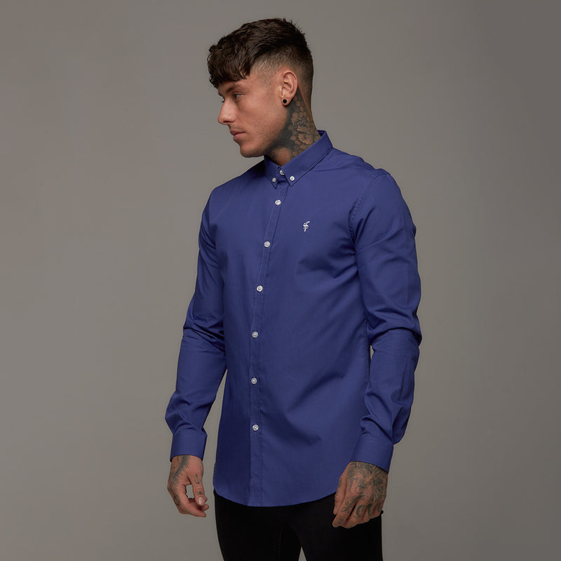 Father Sons Classic Indigo Blue Long Sleeve - FS240
