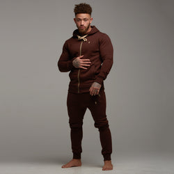 Father Sons Classic Chocolate Brown Hoodie - FSH091