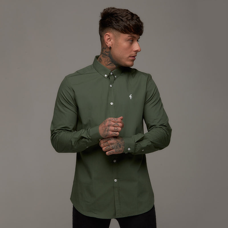 Father Sons Classic Khaki Long Sleeve - FS228
