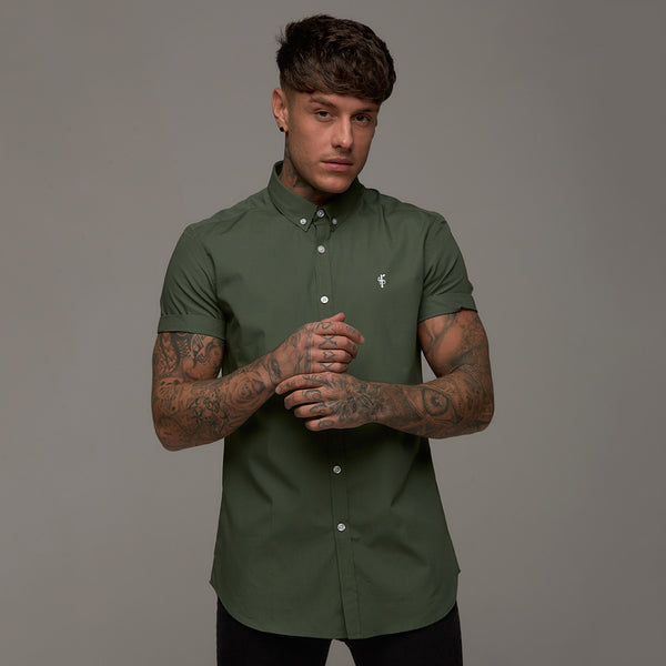Father Sons Classic Khaki Short Sleeve - FS229