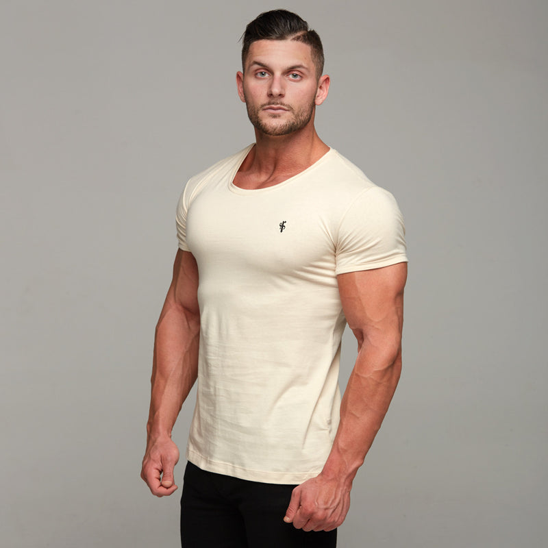 Father Sons Classic Sand Short Sleeve Crew  FSH141