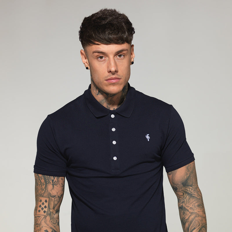 Father Sons Classic Navy Polo Shirt - FSH044