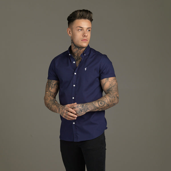 Father Sons Classic Navy Short Sleeve - FS034