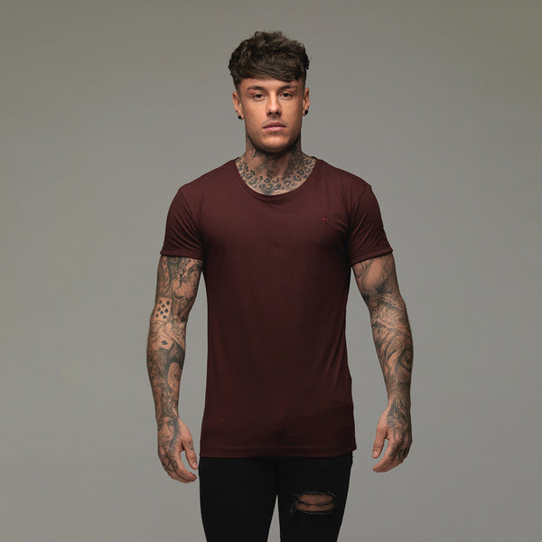 Father Sons Classic Burgundy Crew  - FSH074