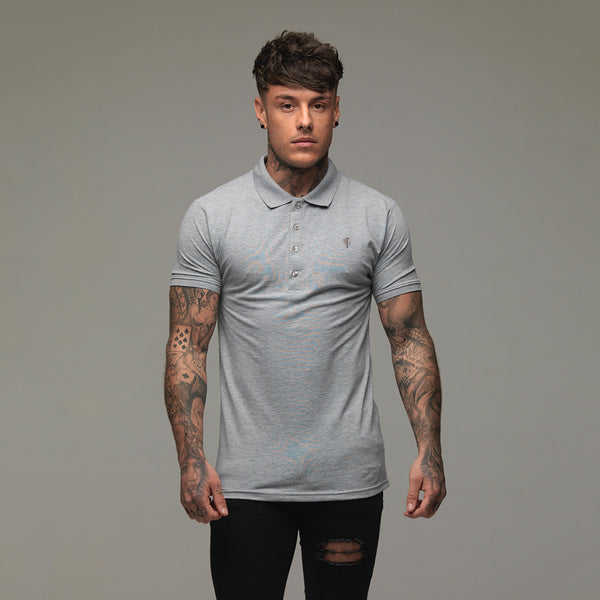 Father Sons Classic Grey Polo Shirt - FSH048