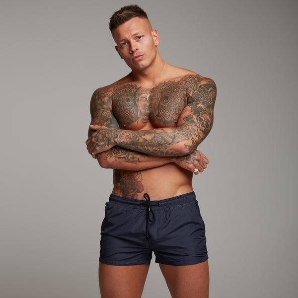 Father Sons Navy Swim Shorts - FSH150