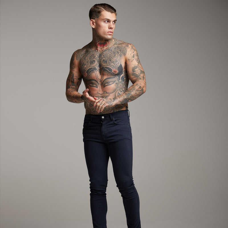 Father Sons Slim Stretch Dark Navy Jeans - FSH138