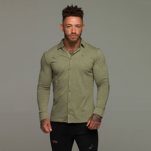 Father Sons Super Slim Khaki Jersey - FSH01