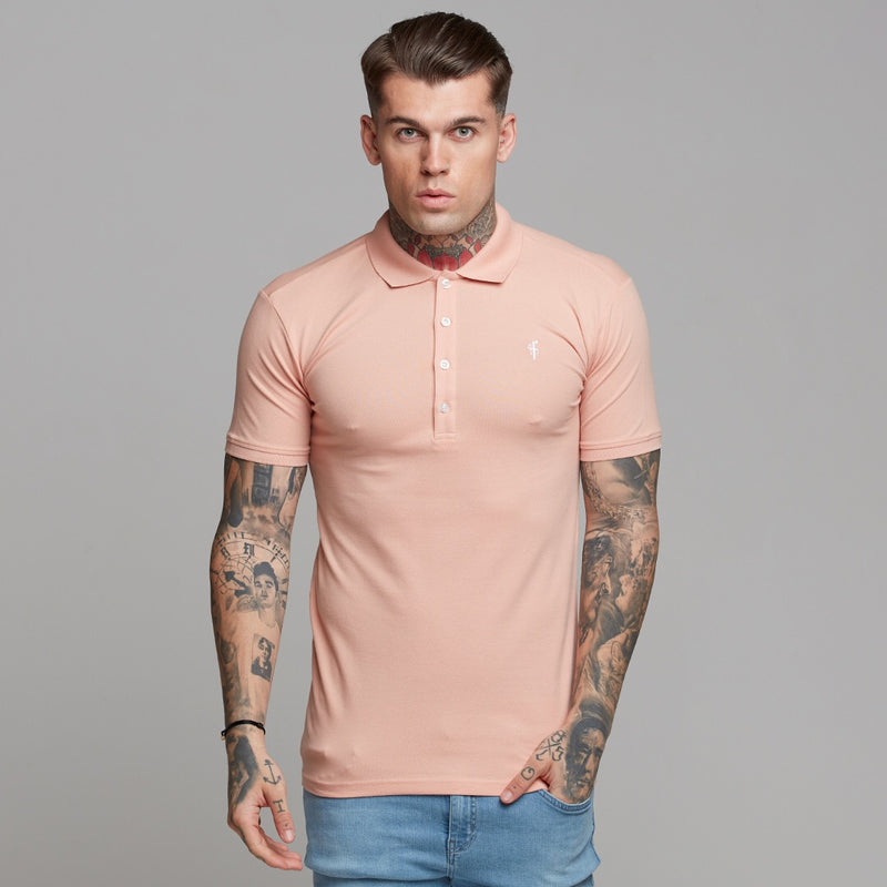 Father Sons Classic Peach Polo Shirt - FSH244