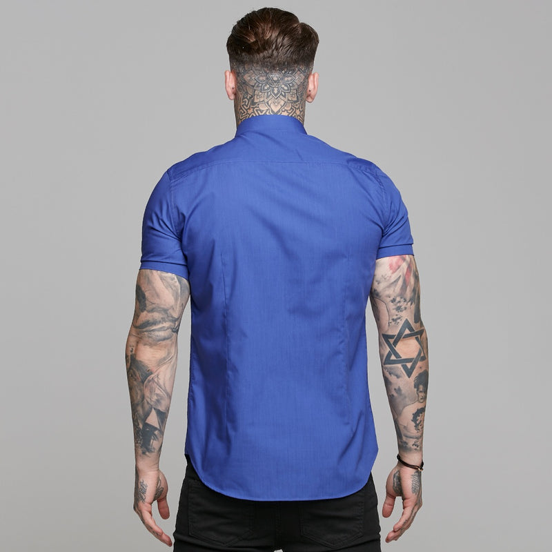 Father Sons Classic Indigo Blue Short Sleeve - FS241