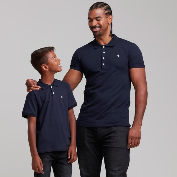 Father Sons Boys Classic Navy Polo Shirt - FSB020