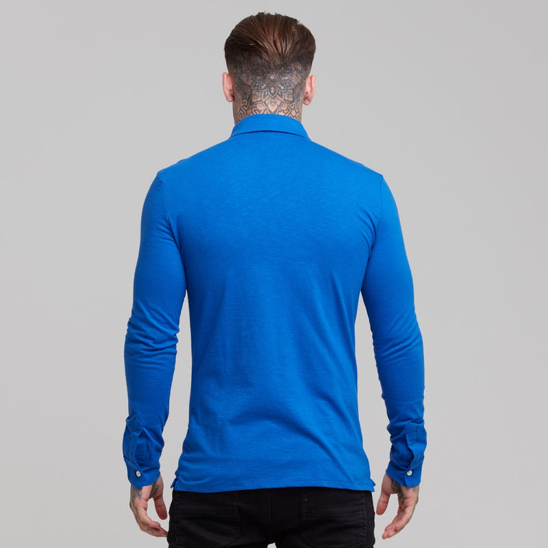 Father Sons Super Slim Royal Blue Jersey - FSH02