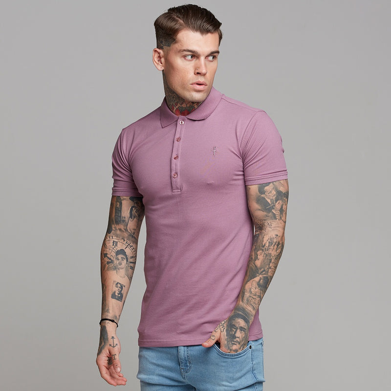 Father Sons Classic Lavender Polo Shirt - FSH270