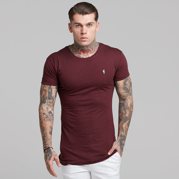 Father Sons Burgundy Bamboo Crew - FSH225