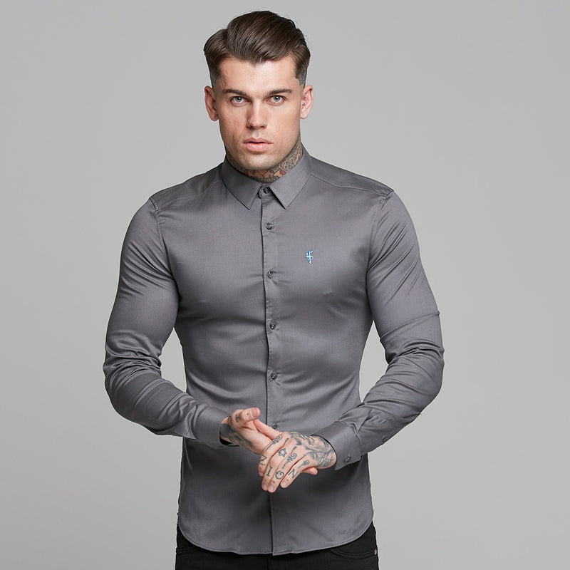 Father Sons Super Slim Luxe Ultra Stretch Dark Grey -  FS535