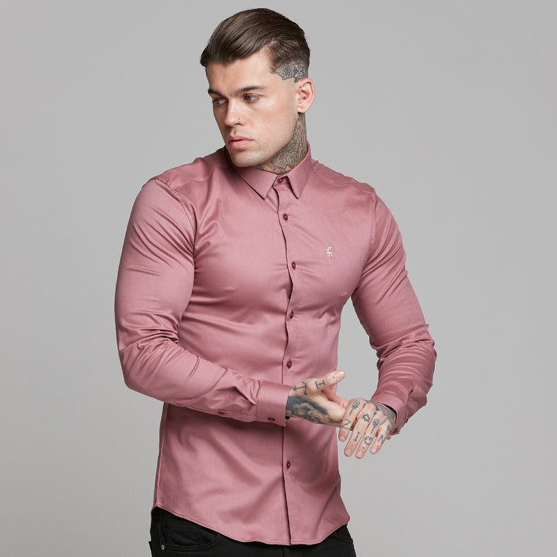 Father Sons Super Slim Luxe Ultra Stretch Mauve -  FS543