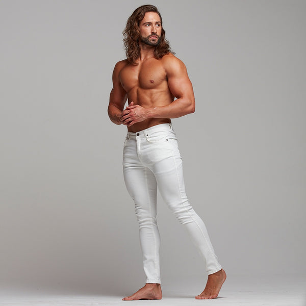 Father Sons Ultra Stretch White Jeans - FSH259 (PRE ORDER 19TH MAY)
