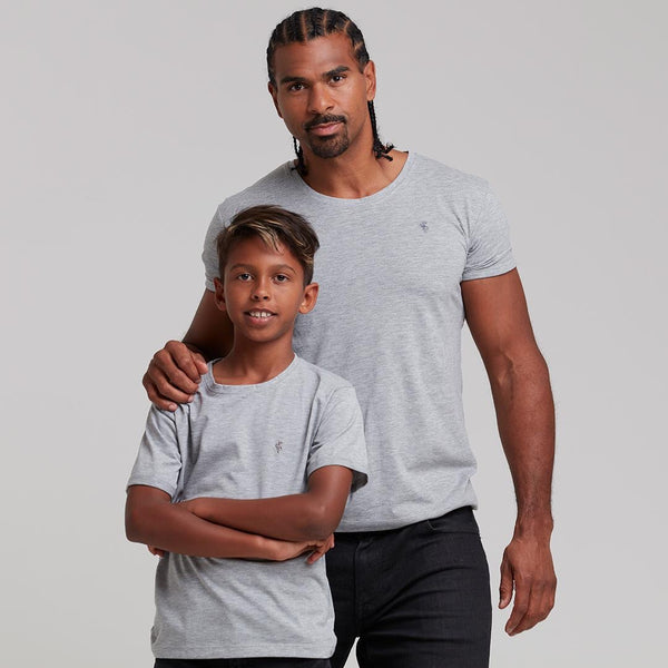 Father Sons Boys Classic Grey Crew - FSB025