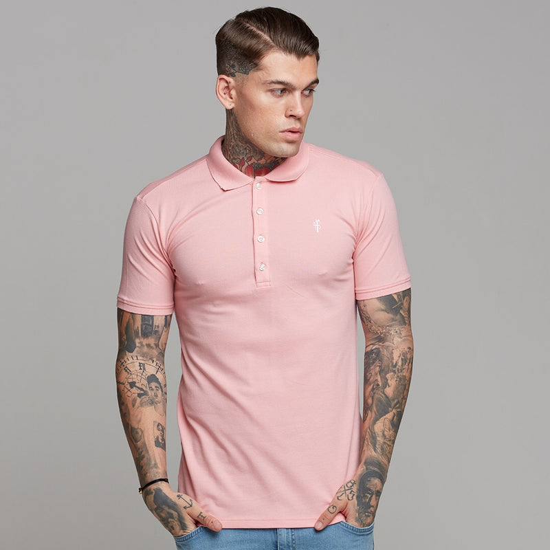 Father Sons Classic Rose Pink Polo Shirt - FSH246