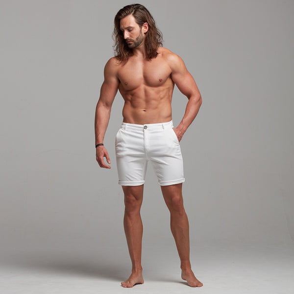 Father Sons Slim Fit Ecru Chino Shorts - FSH228