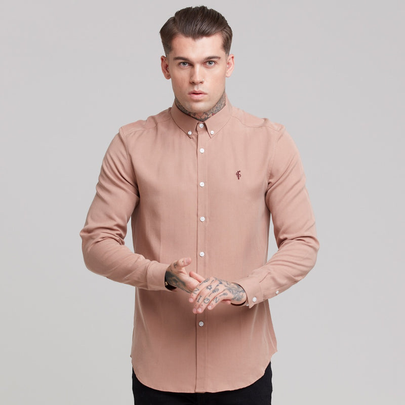 Father Sons Classic Tan Lyocell Long Sleeve - FS461