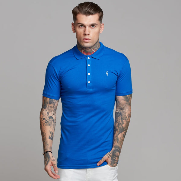 Father Sons Classic Royal Blue Polo Shirt - FSH127