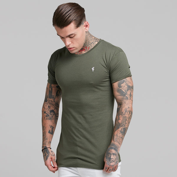 Father Sons Khaki Bamboo Crew - FSH223