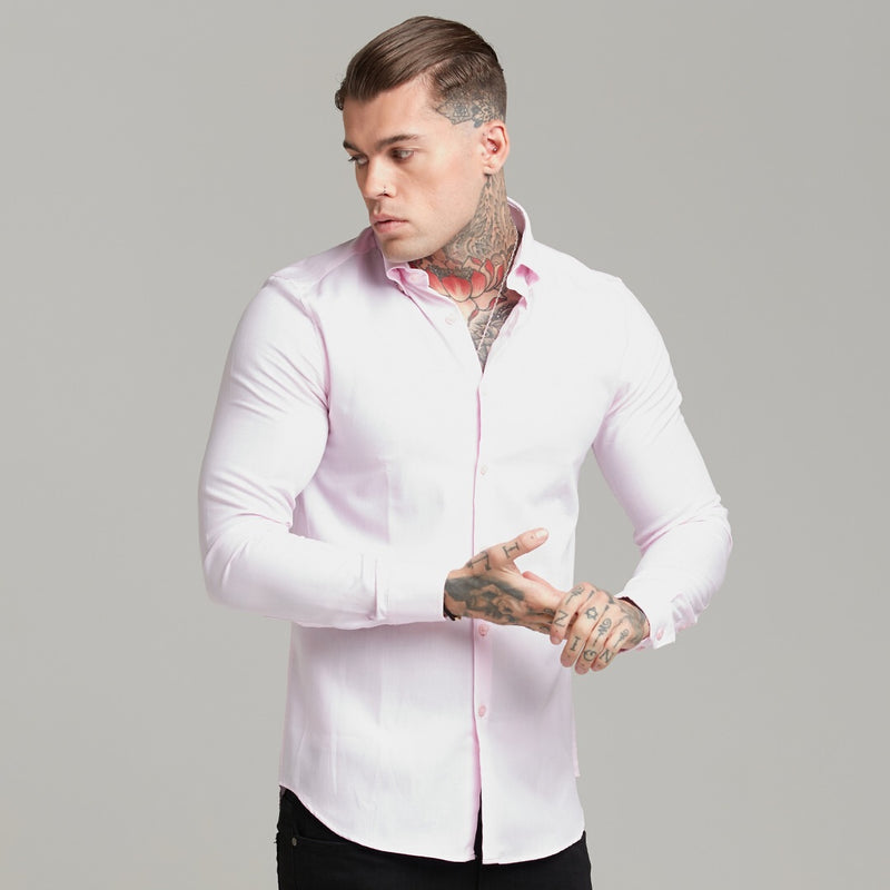 Father Sons Classic Pink Royal Oxford Luxe Button Down - FS609